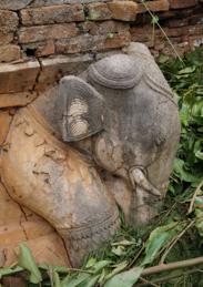 Éléphant pierre