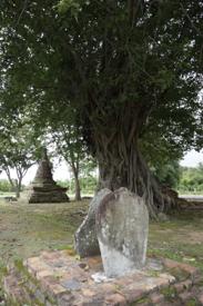 Stèle temple