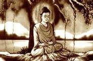 Bouddha sous l'arbre