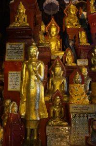 bouddhas dorés