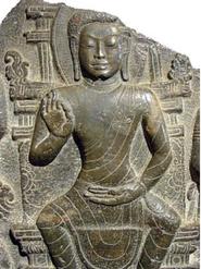 Bas-relief Bouddha