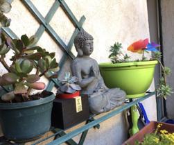 Bouddha-etagere
